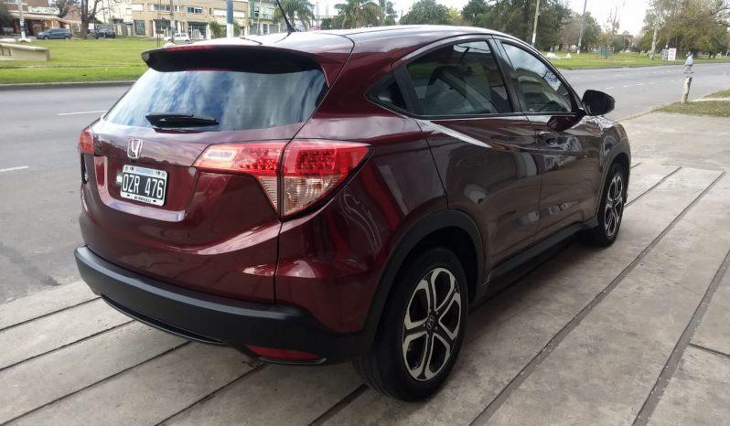 Honda HR-V Lx Cvt Modelo 2016 54000 Km Color Bordeaux completo