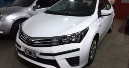 Toyota Corolla 1.8 XLI Modelo 2015 80000 Km Color Blanco