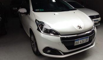 Peugeot 208 Allure 1.6 Modelo 2016 48000 km Color Blanco completo