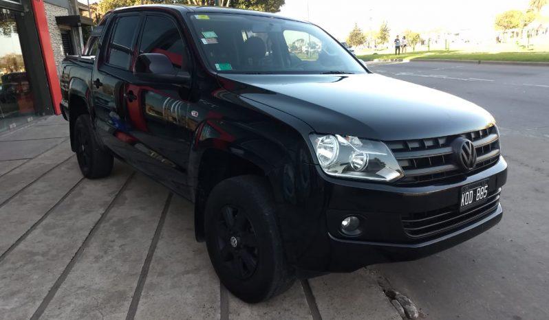 Volkswagen Amarok 2.0 Trendline 4×2 Modelo 2011 100000 km Negra completo
