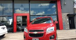 Chevrolet Tracker 1.8 LTZ Modelo 2014 100000 km Color Rojo Excelente!!!