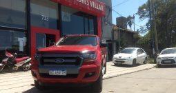 Ford Ranger XLS 3.2 4×2 modelo 2018 14000 km color rojo